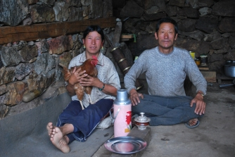 A very friendly couple in Kermi, Humla, where I stayed over night on my way to Hilsa on the boarder with Tibet.