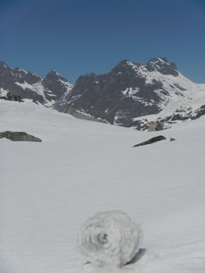 On the way to the Lumbha Sumba Pass (5130m)