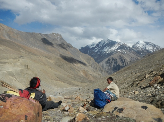 The top of the pass that separates Lower Mustang from Lower Dolpa