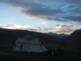 A yak herders tent just over the pass into Lower Dolpa. I stayed over night here, it beat sleeping in my small cold tent.