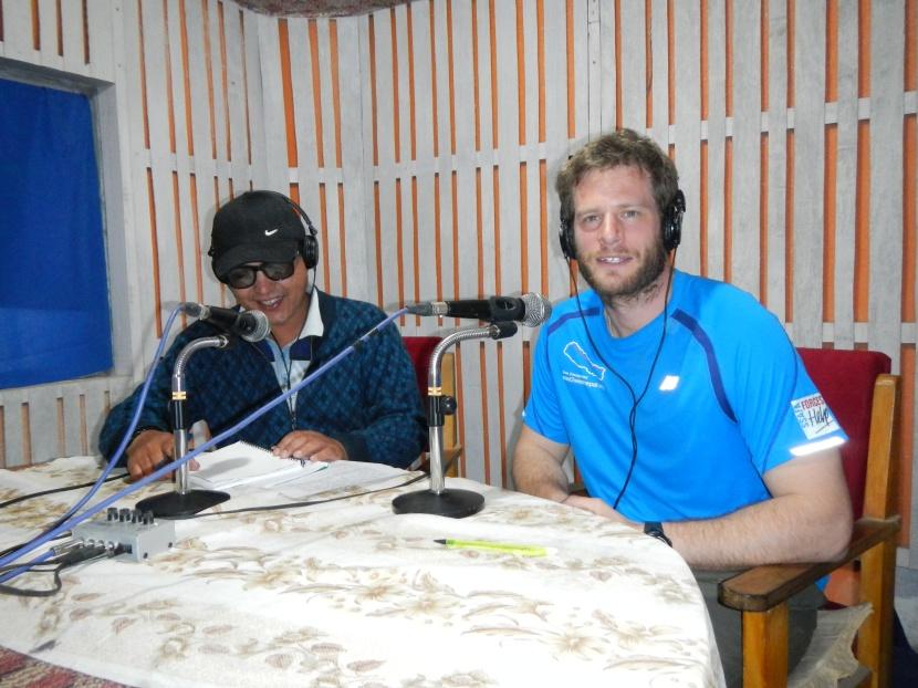 My random radio interview in Taplejung