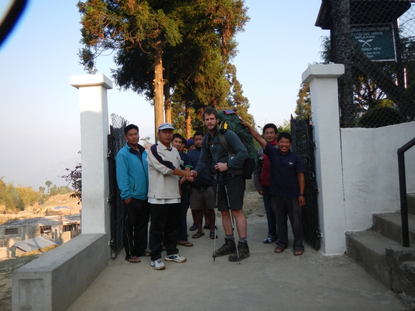 Farewell from the guys at Taplejung Area Welfare Centre